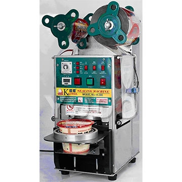 K-300 Bowl's Sealing Machine for Food Container