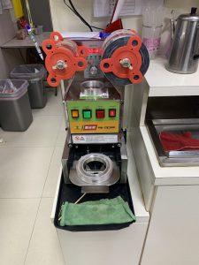 2019 台灣鎧瑋封口機  維修實拍|龜山魔王雞排果糖機